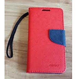 Samsung Galaxy S Duos / 7562 Mercury Goospery Wallet Style Flip Cover Red