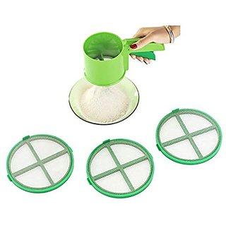 Kishan Enterprise Plastic Strainers 4 Pc