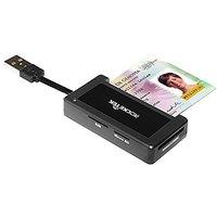 Rocketek DOD Military USB Smart Card Reader / CAC Commo