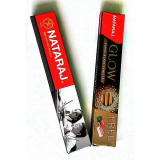 Natraj 621 + Glow pencil - Pack of 20 pencil