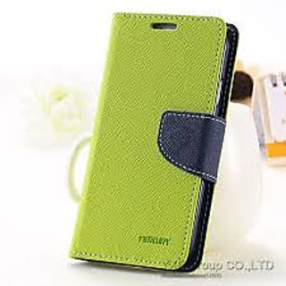 Samsung Galaxy S4 Premium Mercury Diary Wallet Flip Case Cover GREEN