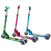 Kids Lazer 3T-Scooter With Leg Break And Led Lights