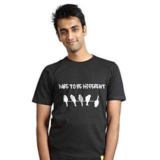 Campus Sutra Mens Round Neck Tshirt