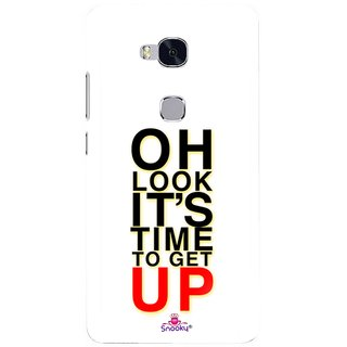 hot sale online e8ebe 8bd22 Snooky Designer Print Hard Back Case Cover For Huawei Honor 5X