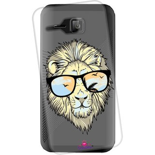 Snooky Printed Transparent Silicone Back Case Cover For Micromax Bolt S301