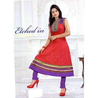 Pure Cotton Kurti with embroidery work - K005