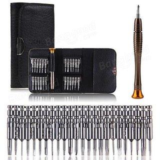 25 in 1 Multi-Purpose Precision Screwdriver Wallet Set Repair Tools