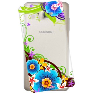 Snooky Printed Transparent Silicone Back Case Cover For Samsung Galaxy On5 Pro
