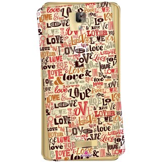 Snooky Printed Transparent Silicone Back Case Cover For Gionee P7 Max