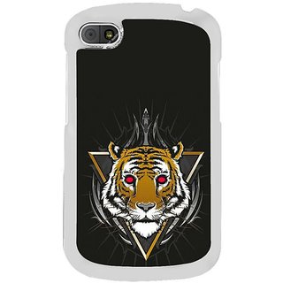 Fuson Designer Phone Back Case Cover Blackberry Q10 ( Head Of The Tiger )