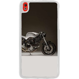 Fuson Designer Phone Back Case Cover HTC Desire 816 ( Classy Bike Engine )