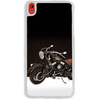 Fuson Designer Phone Back Case Cover HTC Desire 816 ( Vintage Motorcyle On Display )