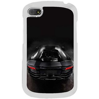 Fuson Designer Phone Back Case Cover Blackberry Q10 ( The Back Of The Sports Car )