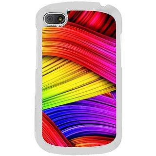 Fuson Designer Phone Back Case Cover Blackberry Q10 ( Mess Of Threads )