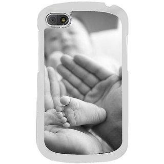 Fuson Designer Phone Back Case Cover Blackberry Q10 ( Baby Steps )