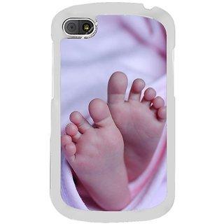 Fuson Designer Phone Back Case Cover Blackberry Q10 ( My Little Bundle Of Joy )