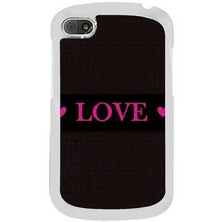 Fuson Designer Phone Back Case Cover Blackberry Q10 ( True Love )