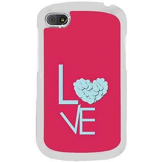 Fuson Designer Phone Back Case Cover Blackberry Q10 ( Overflowing Love )