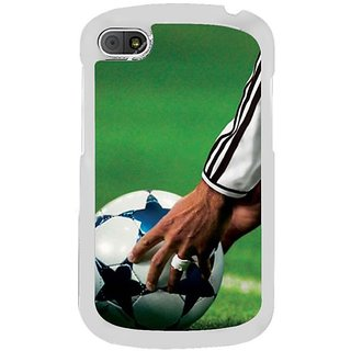 Fuson Designer Phone Back Case Cover Blackberry Q10 ( Ready For The Kick )