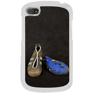 Fuson Designer Phone Back Case Cover Blackberry Q10 ( Football Studs My Priced Possession )