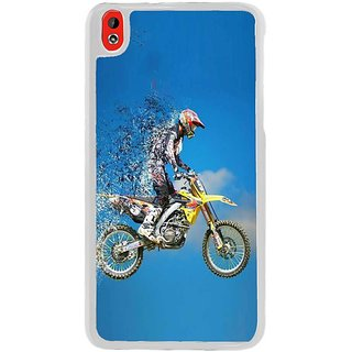 Fuson Designer Phone Back Case Cover HTC Desire 816 ( Racing Through The Sky )