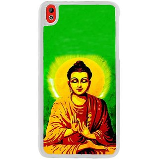 Fuson Designer Phone Back Case Cover HTC Desire 816 ( Lord Buddha Giving Blessings )