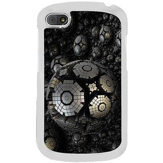 Fuson Designer Phone Back Case Cover Blackberry Q10 ( Unique Round Balls )