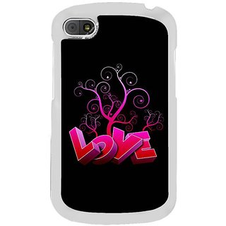 Fuson Designer Phone Back Case Cover Blackberry Q10 ( Nurturing Love )