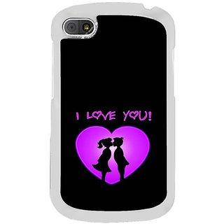 Fuson Designer Phone Back Case Cover Blackberry Q10 ( Dawn Of Love )