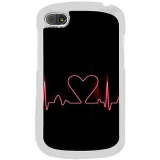 Fuson Designer Phone Back Case Cover Blackberry Q10 ( Lifeline )