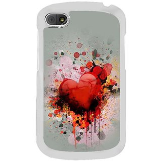 Fuson Designer Phone Back Case Cover Blackberry Q10 ( The Test Of Love )