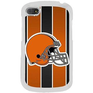 Fuson Designer Phone Back Case Cover Blackberry Q10 ( An American Football Helmet )