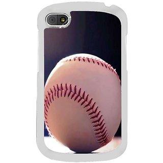 Fuson Designer Phone Back Case Cover Blackberry Q10 ( A Baseball Ball At Rest )