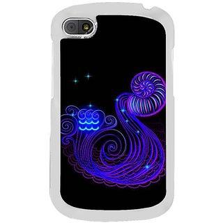 Fuson Designer Phone Back Case Cover Blackberry Q10 ( Shape Is Tricky )