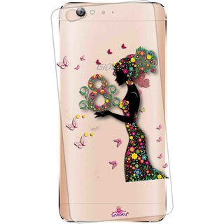 outlet store 041b6 3f55e Snooky Printed Transparent Silicone Back Case Cover For Gionee S6