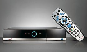 Original Remote Control For Tata Sky Plus Hd Set Top Box With Recording Feature