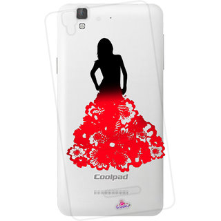 Snooky Printed Transparent Silicone Back Case Cover For Micromax Yu Yureka Plus