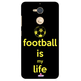 Snooky Designer Print Hard Back Case Cover For Gionee S6 Pro