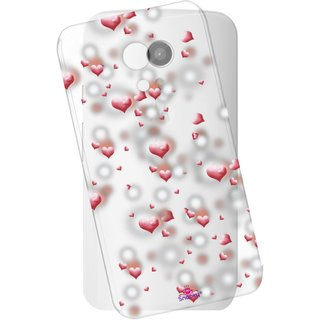 Snooky Printed Transparent Silicone Back Case Cover For Motorola Moto G (2nd Gen)
