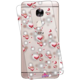 Snooky Printed Transparent Silicone Back Case Cover For LeEco Le 2
