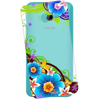 Snooky Printed Transparent Silicone Back Case Cover For Asus Zenfone 4