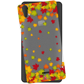Snooky Printed Transparent Silicone Back Case Cover For Micromax Canvas Selfie 2 Q340