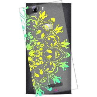 Snooky Printed Transparent Silicone Back Case Cover For Micromax Canvas Play 4G Q469