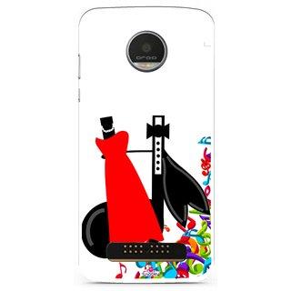 Snooky Designer Print Hard Back Case Cover For Motorola Moto Z Play