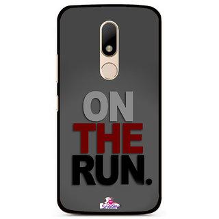 Snooky Designer Print Hard Back Case Cover For Motorola Moto M