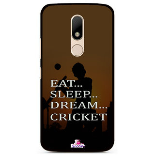 Snooky Designer Print Hard Back Case Cover For Motorola Moto M