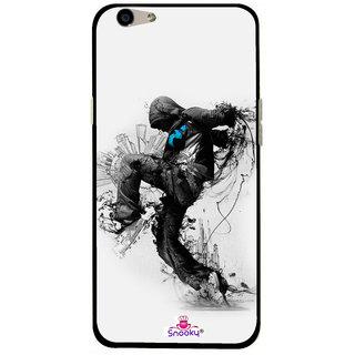 Snooky Designer Print Hard Back Case Cover For Oppo F1s