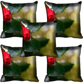 meSleep Flower Digital printed Cushion Cover (20x20) - 20CD-59-116-05