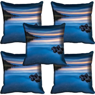 meSleep Nature Digital printed Cushion Cover (20x20) - 20CD-59-131-05