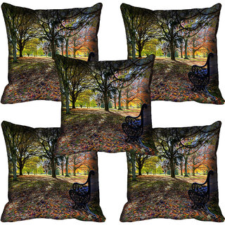 meSleep Nature Digital printed Cushion Cover (20x20) - 20CD-60-129-05